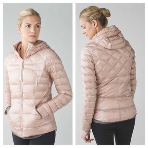 {lululemon} RARE Grain Fluffin Awesome Jacket